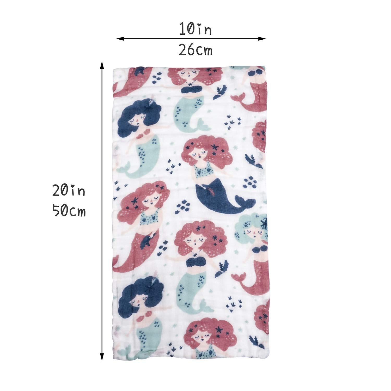 alpha-ene.co.jp Washcloths & Wash Gloves Baby 4 Pack Koala & Moon ...