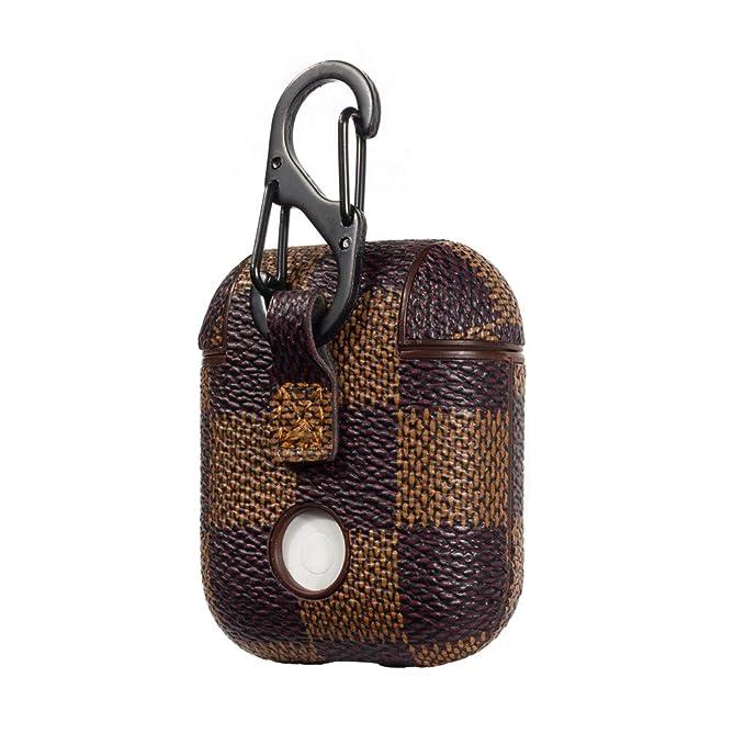 Amazon.com: Funda protectora de piel con llavero de ...