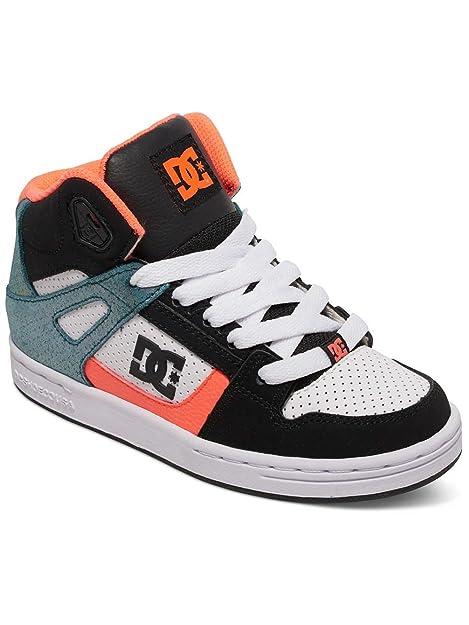 DC Shoes Rebound Se, Zapatillas Altas para Niñas: Amazon.es: Zapatos y complementos