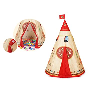 Teepee Tents for KidsAnyshock Outdoor and Indoor Indian Tipi Tent PlayHouse Castle Baby Toys  sc 1 st  Amazon.com & Amazon.com: Teepee Tents for KidsAnyshock Outdoor and Indoor ...