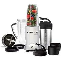 NutriBullet 1200 watt Series - Batidora de Vaso - para Smoothies de Frutas y Verduras - set 12 pcs