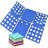 Geniusidea Shirt foding Board Tshirt Folding Board t Shirt Folder Clothes flip fold Plastic flipfold Laundry Room…