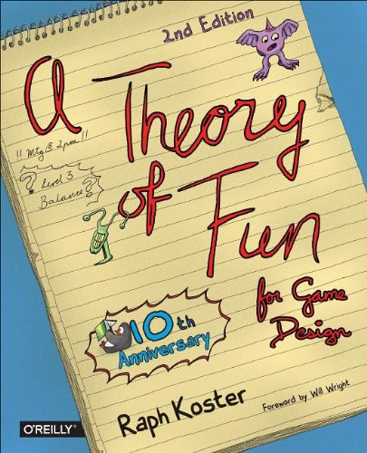 Theory of Fun for Game Design, 2nd Edition by Raph Koster, Publisher : O'Reilly Media