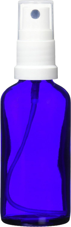ease 保存容器 スプレータイプ ガラス 青色 50ml