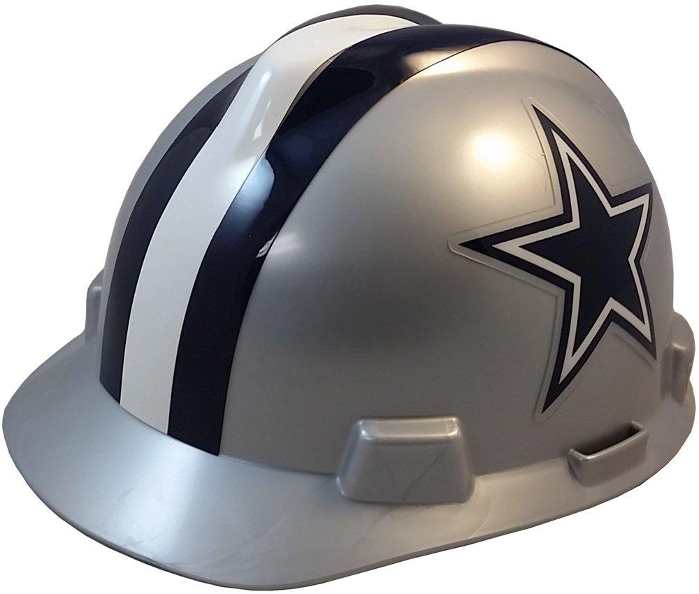 MSA NFL Ratchet Suspension Hardhats - Dallas Cowboys Hard Hats