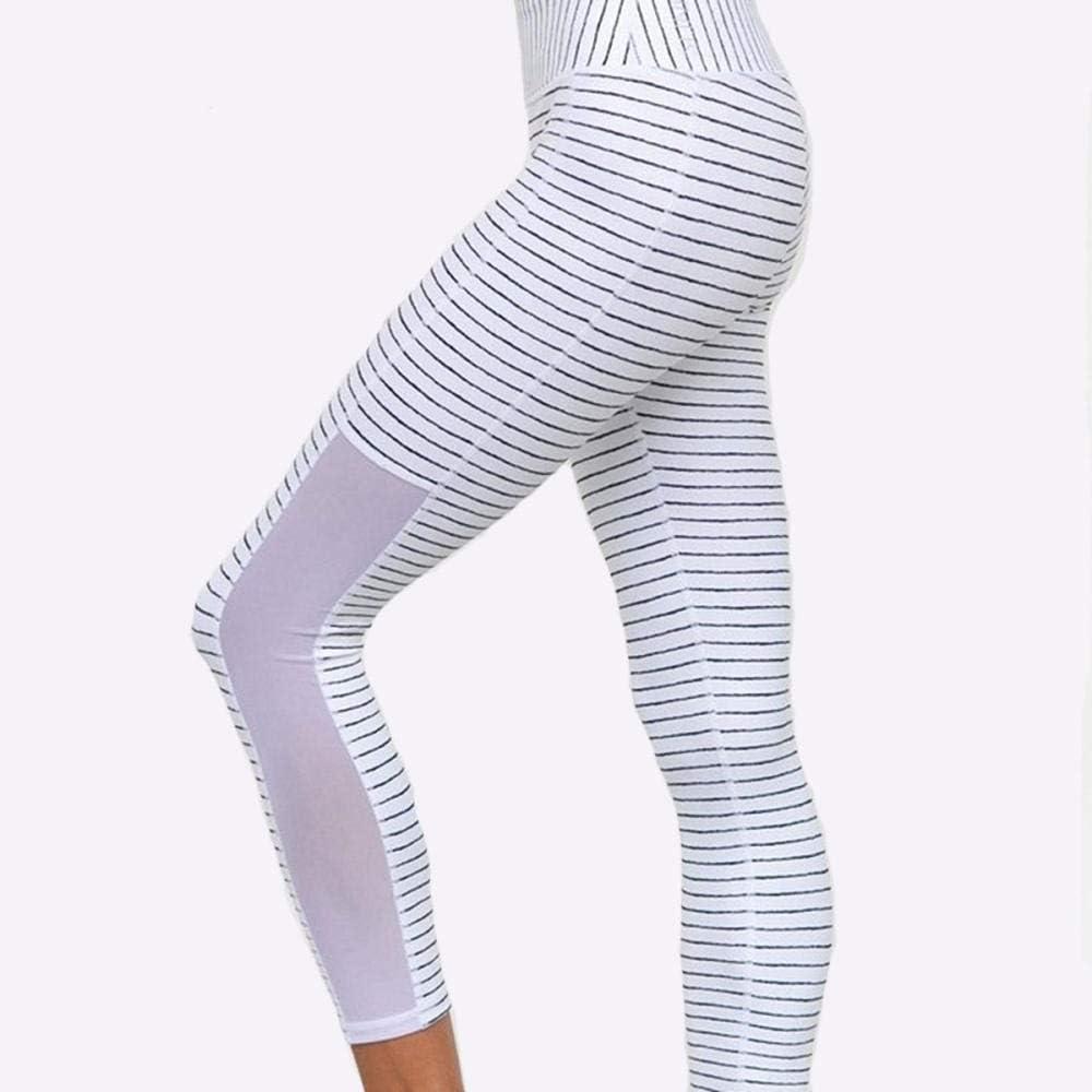 Filoviri Leggings Femme Pantalon de Yoga Maille Respirante