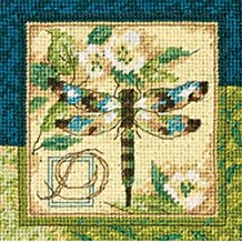 Dimensions Needlepoint Kit, Dragonfly