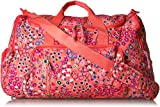 Vera Bradley Lighten up Ultimate Gym Bag, Coral Meadow