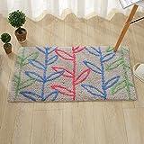 Mats door mats household mats bathroom water-absorbing pad -45*70cm Ash