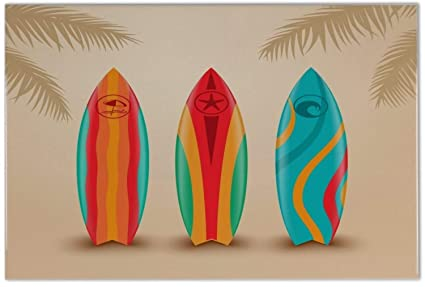 Azulejo Agencia Viajes Vacaciones Tablas de surf Ceramica impreso 20x30 cm