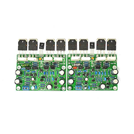 LJM MX50X2 2pcs MX50 Class AB 100W+100W Finished Board Power Amplifier Borad
