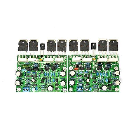 LJM MX50X2 2pcs MX50 Class AB 100W+100W Finished Board Power Amplifier Borad