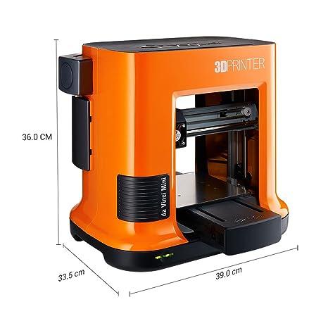 XYZ Printing Impresora 3D da Vinci Mini W (totalmente ensamblada ...