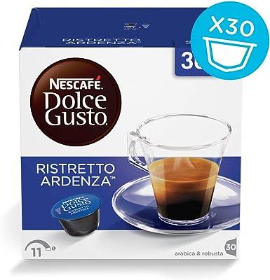 Dolce Gusto Ristretto Ardenza capsulas (3 Cajas, 30 Capsulas ...