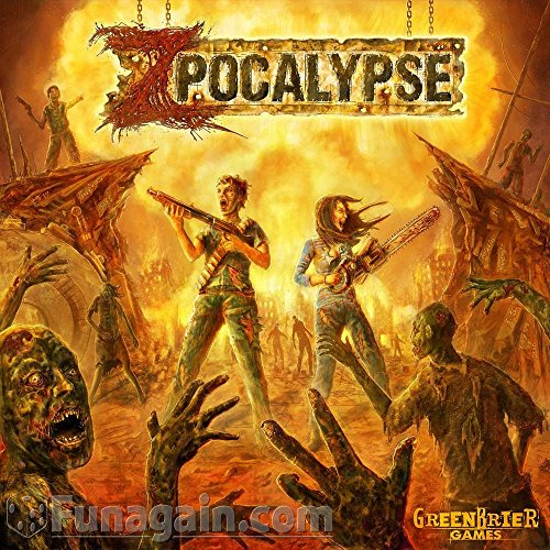 GreenBrier Games Zpocalypse Starter Set