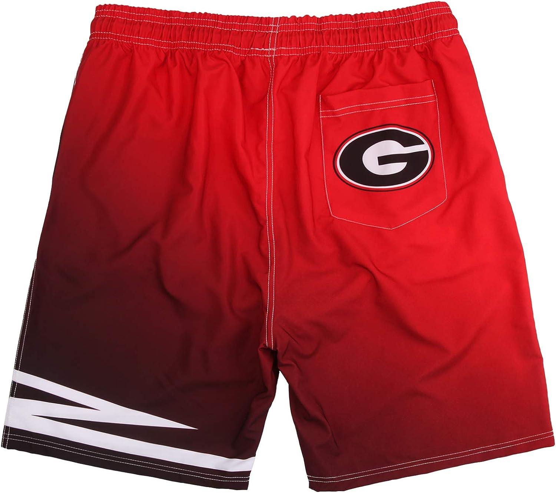 Faivvy Mens Swim Gradient Shorts Training Quick Dry Shorts Athletic Shorts Swim Trunks for Men