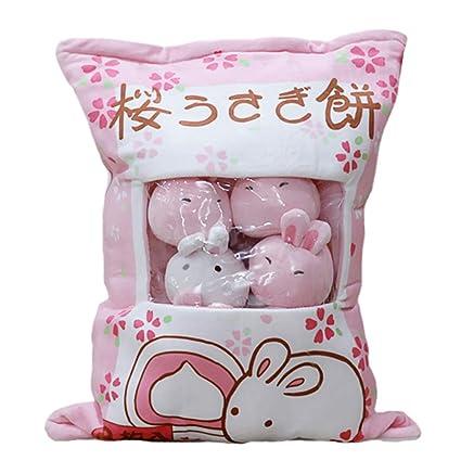 IIWOJ Big Bag Lovely Animal Plush Doll Simulation Pillow Cushion Girl Birthday Gift Holiday Present