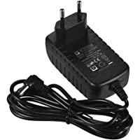 Andoer AC-adapter 12 V 1,5 A gäller endast LED-fotol116t, l116b, l132t, l132b, vl-162t europeiska regler 100 – 240 V