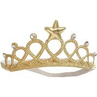 Balai Baby Girl's Infant Toddler Five Star Princess Crown Headband Hair Band