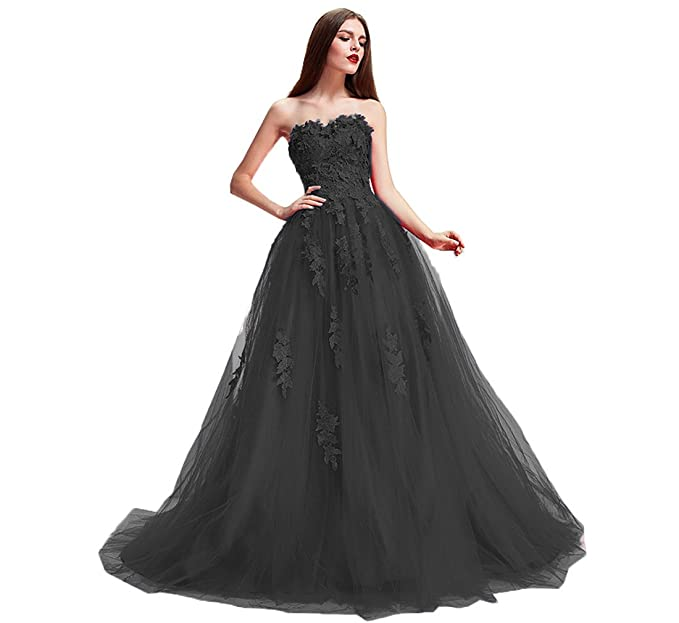 1290a5daf6 Nicefashion Flower Lace Tulle Ball Gown Pageant Dresses Princess Wedding  Dress