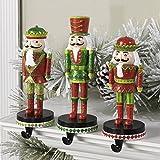 Christmas Nutcracker Stocking Hanger - Set of 3