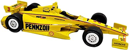 Auto World 1/64th Scale Diecast Indy Model Race Car for Kids, Toy Car for Toddlers, Kids, Boys, Girls Gift (Pennzoil)
