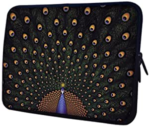 14 inch Fascinating Peacock Notebook Laptop Sleeve Bag Carrying Case for most of MacBook, Acer, ASUS, Dell, HP, Lenovo, Sony, Toshiba