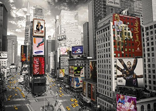 New York- Times Square Giant Poster with Hanger
