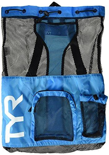 TYR Big Mesh Mummy Backpack, Blue, Large