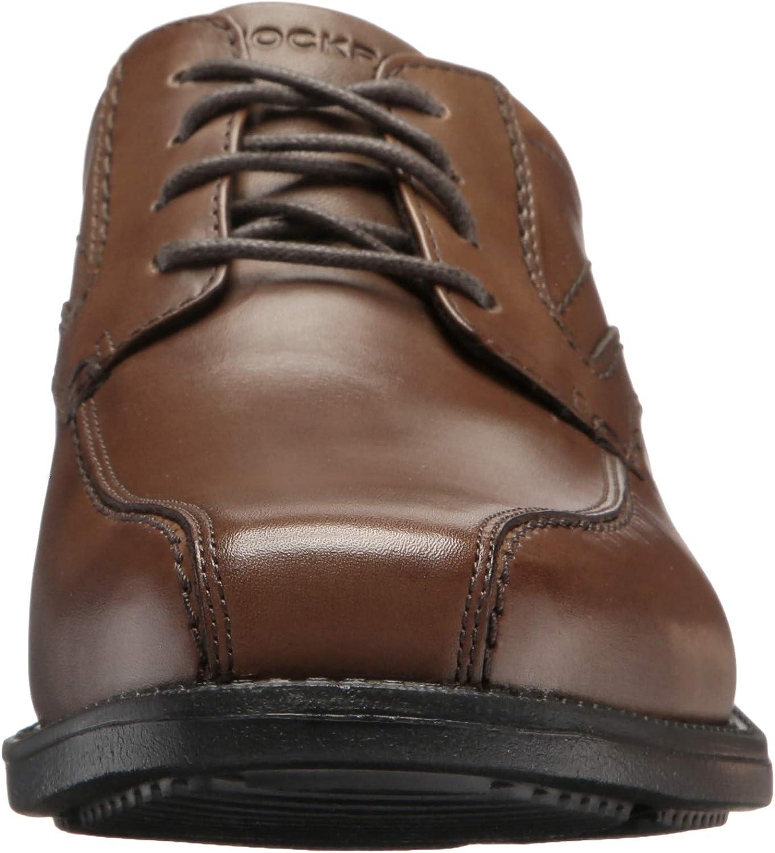 Rockport Bike Toe Oxford Chaussures en Cuir pour Homme Noir