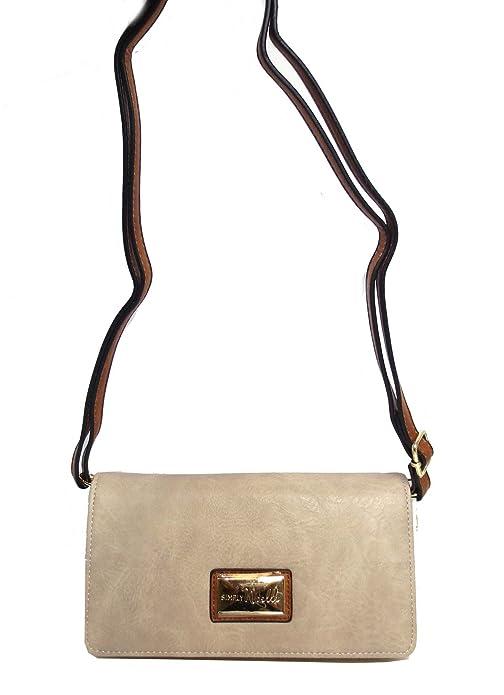 d227723cce Details. Vegan Faux Leather 3 in 1 Zippered Crossbody Wristlet Women s Bag  ...