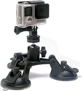 Soporte flexible para cámaras, color suction mount