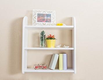 Wall Shelf White 20 Cm Depth 60 Cm Wide Amazon Co Uk Diy Tools