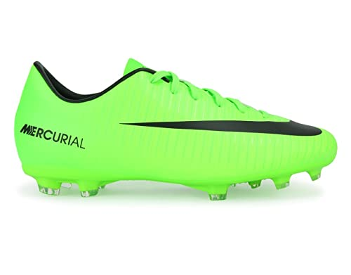 ae5ee2357 Nike Kids Mercurial Victory VI FG Electric Green/Black/Flash Lime Soccer  Shoes -