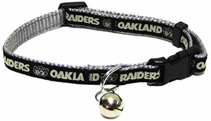 0e7e6a64b Image Unavailable. Image not available for. Color  Pets First NFL CAT  Collar. - Oakland Raiders ...
