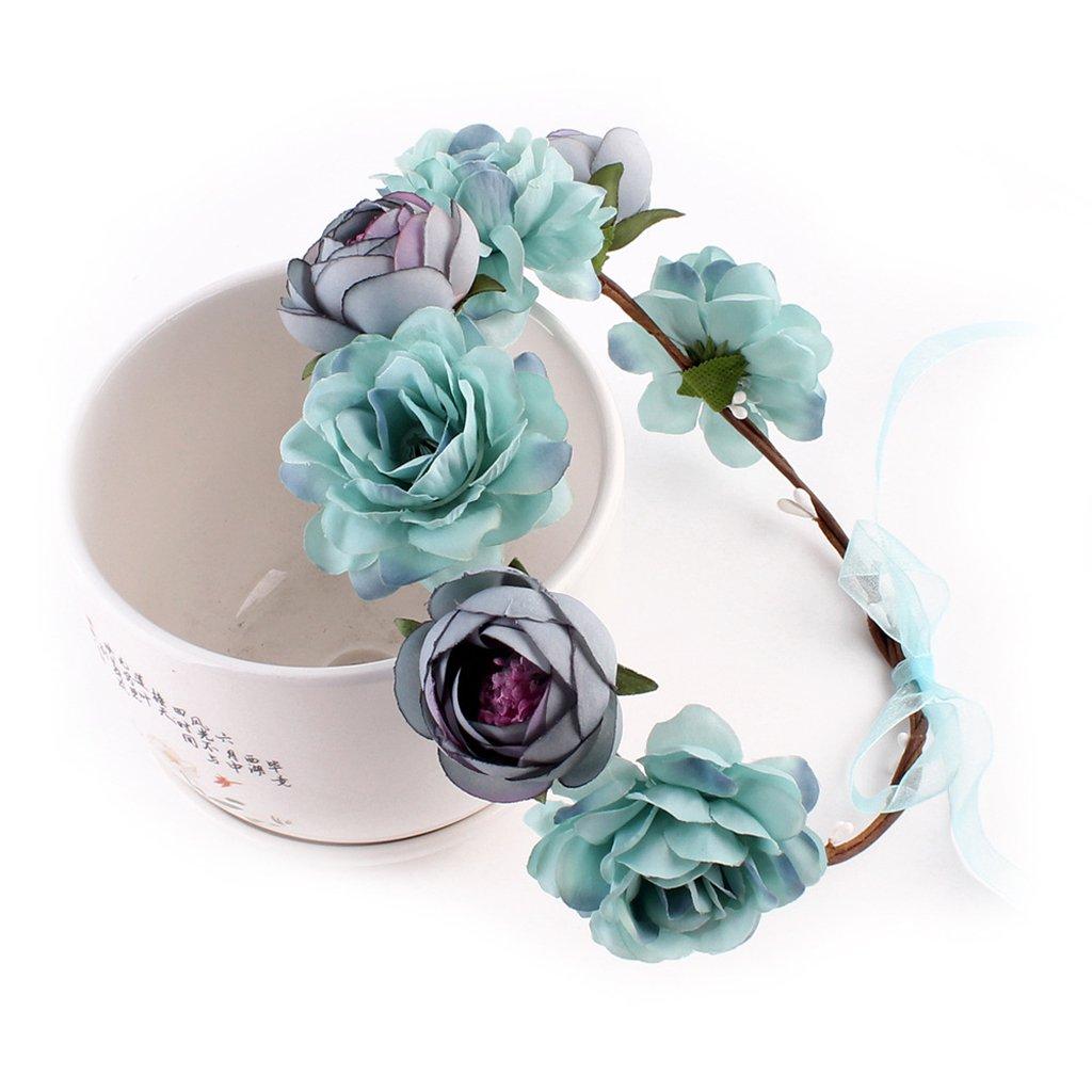 MagiDeal Frauen Braut Blume