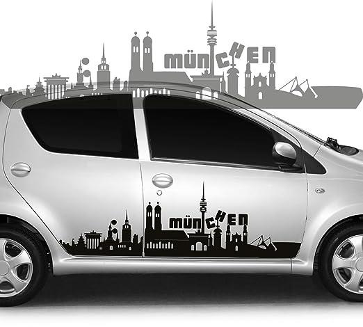 PEGATINA de coche con diseño de tatuaje de Skyline de la ciudad de ...