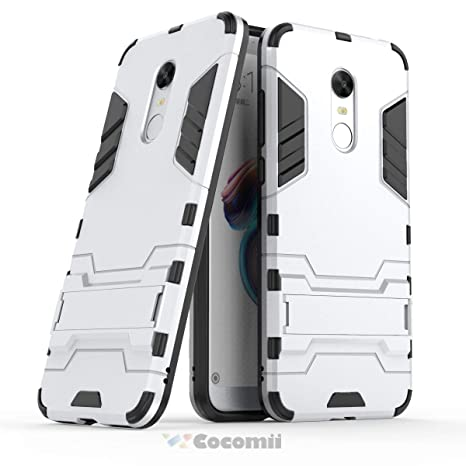 Cocomii Iron Man Armor Xiaomi Redmi Note 5/Redmi 5 Plus Funda [Robusto] Táctico Sujeción Soporte Antichoque Caja [Militar Defensor] Case Carcasa for ...