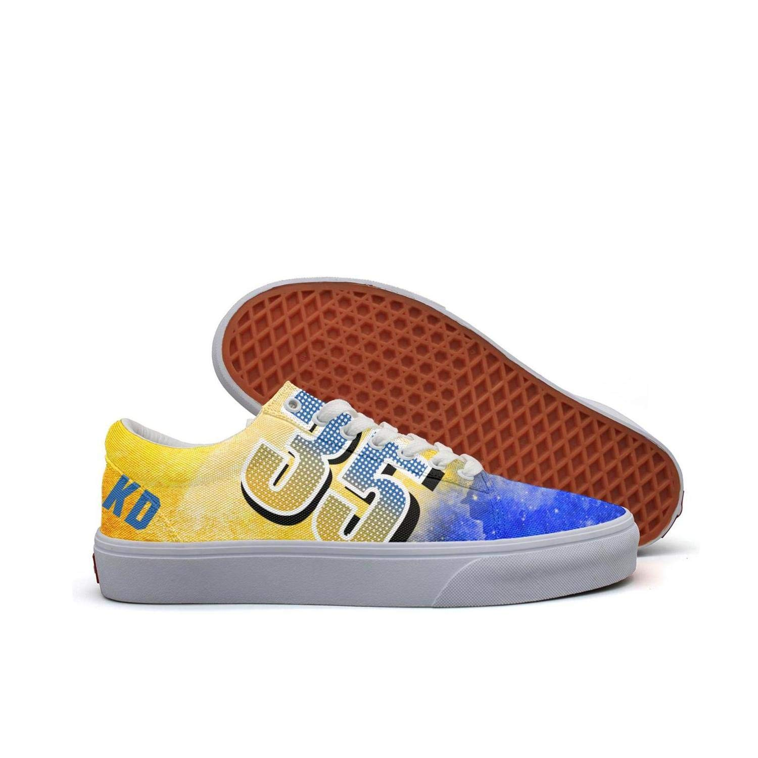 2cce66d050d90 Amazon.com: uter ewjrt Mens Blue and Yellow 35 KD Pattern Fashion ...