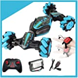 Gesture Sensing RC Stunt Car with Light Sound - Remote Control Twisting Deformation Vehicle - High-Speed Electric…