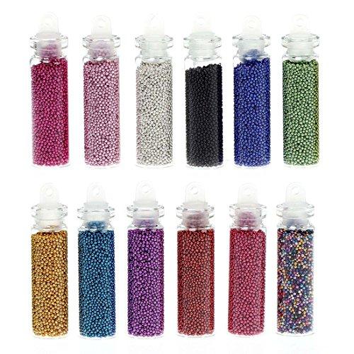 Enamel Tube Beads - 3
