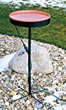 Farm Innovators Model BD-601 Heated Birdbath with Pedestal - Terra Cotta, 75-Watt