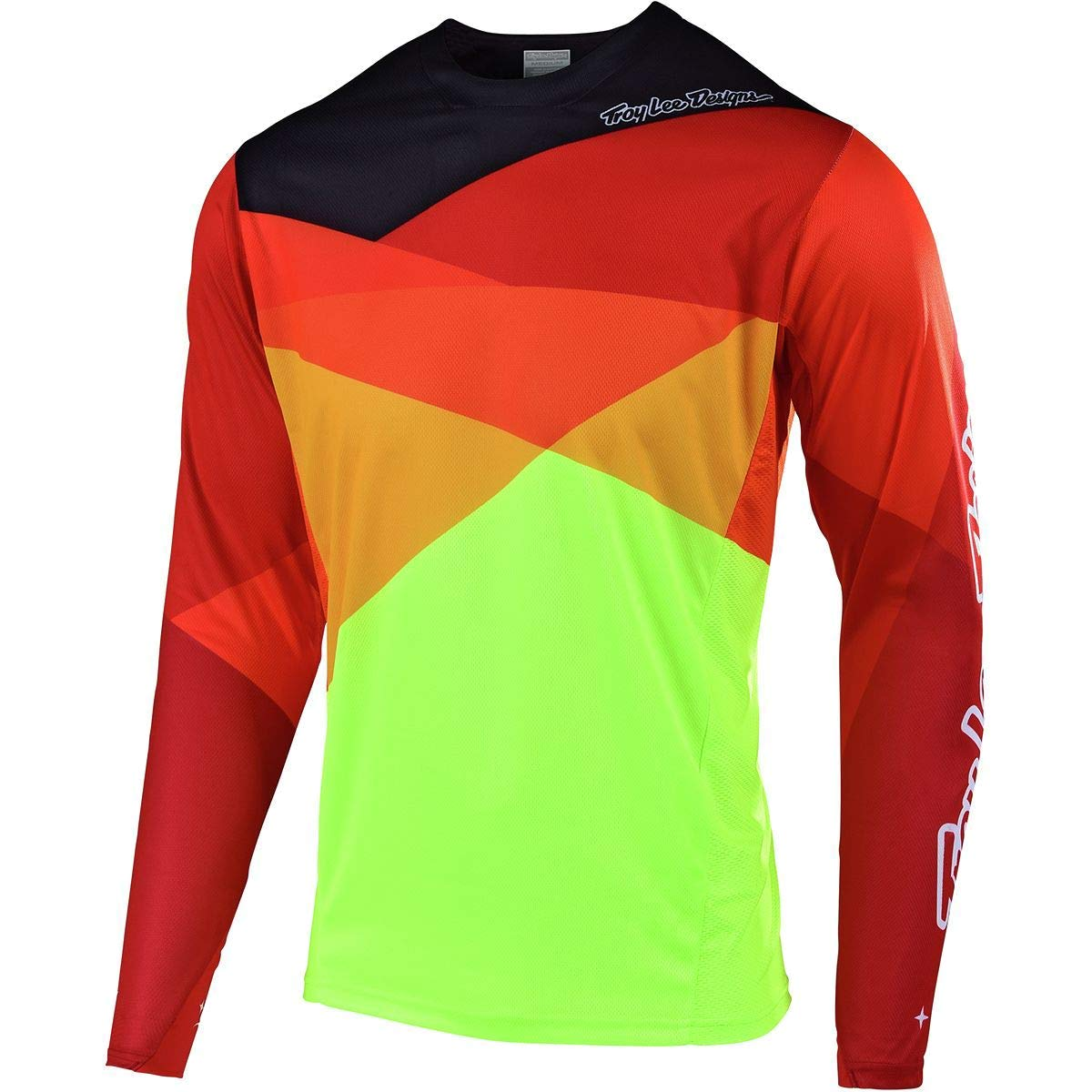 Troy Lee Designs Sprint Jersey - Men's Jet Yellow/Orange, S