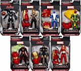 Hasbro Avengers Marvel Legends Iron Man, Blizzard, War Machine and More Action Figures Wave 3 Set of 7