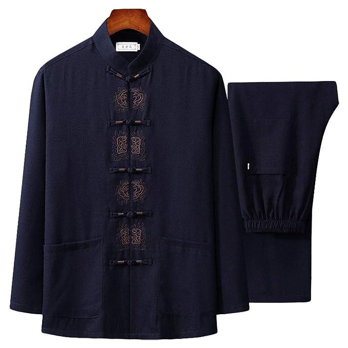 Amazon.com: ZooBoo Tai Chi Uniform Camisa - Qi Gong Artes ...