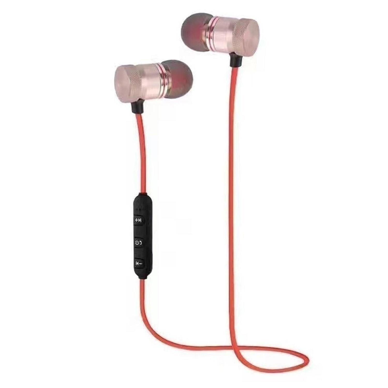 Hotstype Stereo in-Ear Earphones Earbuds Handsfree Bluetooth Earphone Sport Running Wir Bluetooth Headsets