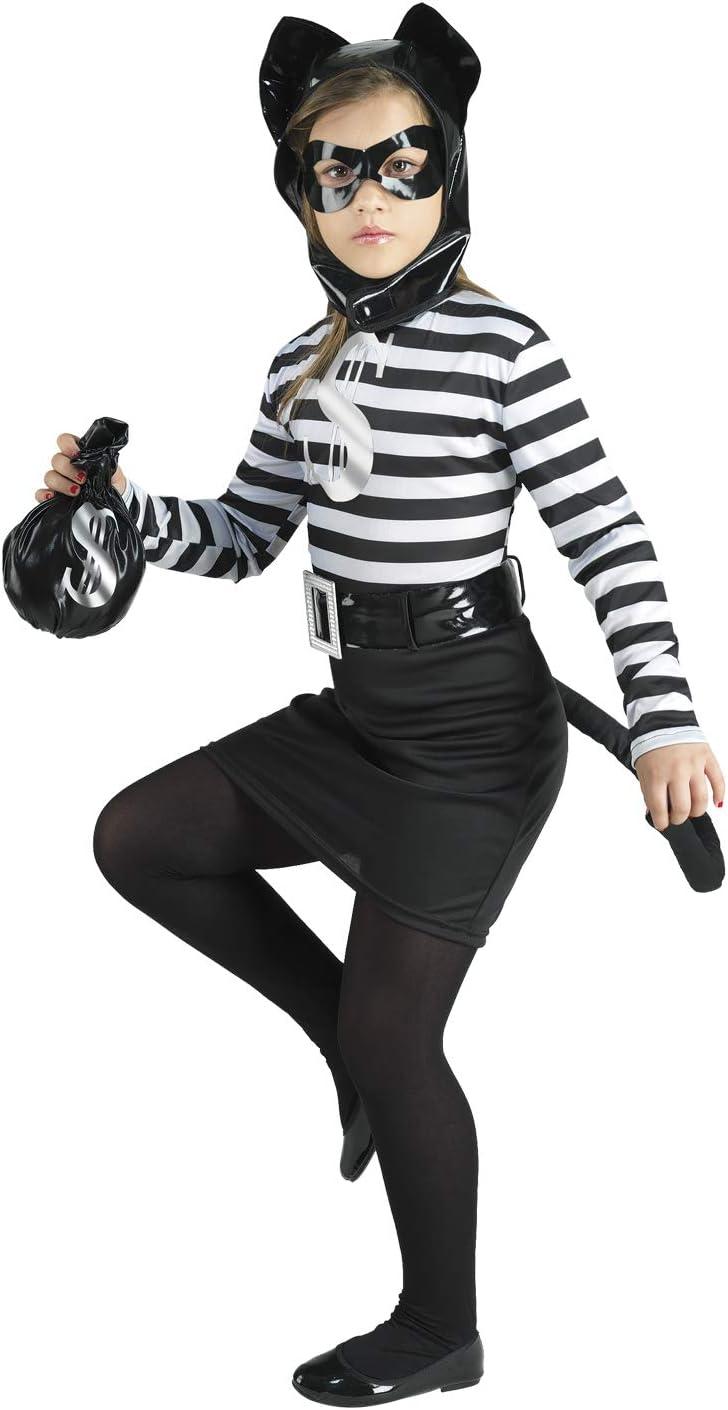 Clown Republic 88508/08 - Disfraz de gato fantasma, para niña ...