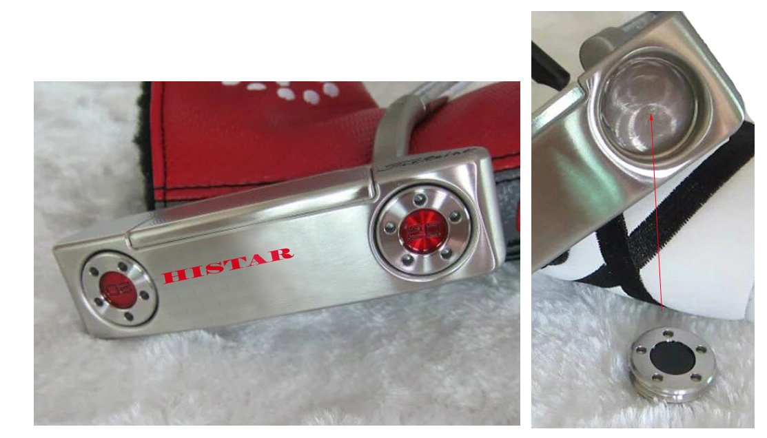 HISTAR Custom Putter Weights 35g for Scotty Cameron Select Newport Studio Design California GoLo Futura X Series Clubs Head by HISTAR