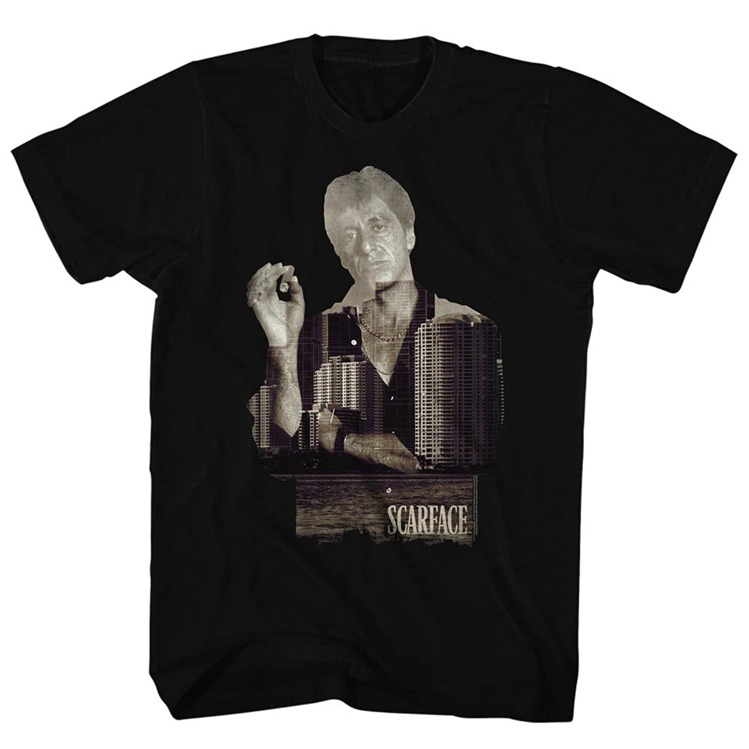 Scarface - Mens Double Expose T-Shirt