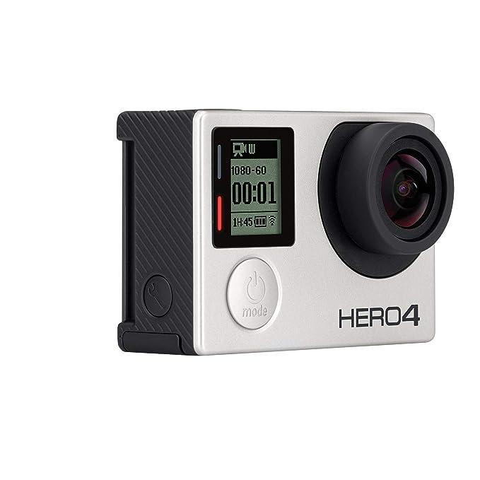 Amazon.com: GoPro HD Hero4 Silver Videocámara de Acción con ...